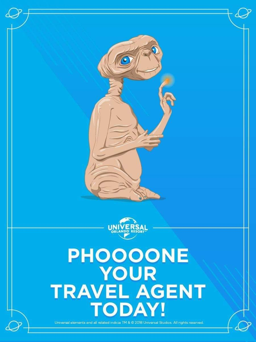 Even ET knows who to call :)